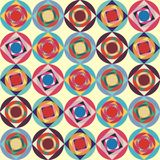 Naadloze geometrische textuur vector illustratie