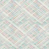 Naadloze geruite Schotse wollen stofplaid pastelkleur achtergrondtonen stock afbeeldingen
