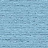 Naadloze geschilderde blauwe muur Royalty-vrije Stock Afbeelding
