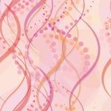 Naadloze gevoelige cirkels en lijnen als achtergrond Stock Foto
