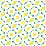 Naadloze gevormde textuur stock illustratie