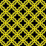 Naadloze gouden geometrische patroonvector Royalty-vrije Stock Foto's