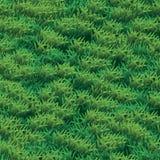 Naadloze gras vectortextuur De groene illustratie van de gras naadloze textuur royalty-vrije illustratie