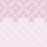 Naadloze grens vector overladen in Oostelijke stijl Islampatroon vector illustratie