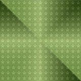 Naadloze groene achtergrond Royalty-vrije Stock Afbeeldingen