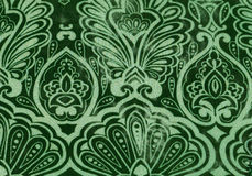 Naadloze groene bloemenachtergrond Royalty-vrije Stock Fotografie