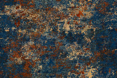 Naadloze grunge en roestige texturen en achtergronden Stock Fotografie