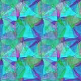 Naadloze grungeachtergrond, caleidoscopisch helder multicolored patroon, Royalty-vrije Stock Foto