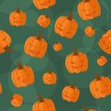 Naadloze Halloween achtergrond Royalty-vrije Illustratie