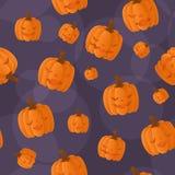 Naadloze Halloween achtergrond Royalty-vrije Stock Afbeelding