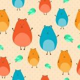 Naadloze hamsters Royalty-vrije Stock Afbeelding