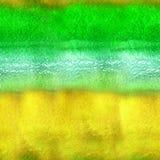 Naadloze hand getrokken waterverfachtergrond stock foto's