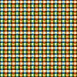 Naadloze heldere kleurrijke verwevende achtergrond stock illustratie