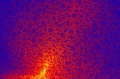 Naadloze het patroon abstracte achtergrond van het ritselennetwerk (Hoge Resolutie) Stock Foto