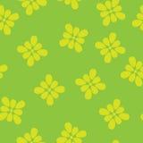 Naadloze het patroon van de bloem Stock Afbeelding