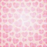 Naadloze het Patroon van het hart Stock Afbeelding