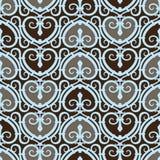 Naadloze het Patroon van het hart Royalty-vrije Stock Afbeelding
