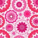 Naadloze het patroonachtergrond van de bloem. Royalty-vrije Stock Foto's