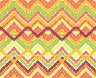 Naadloze het patroonachtergrond van de chevronzigzag Stock Fotografie