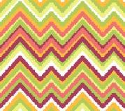 Naadloze het patroonachtergrond van de chevronzigzag Royalty-vrije Stock Afbeelding
