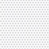 Naadloze het Patroonachtergrond van Gray Stars Pattern Fabric Illustration Stock Afbeelding