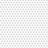 Naadloze het Patroonachtergrond van Gray Stars Pattern Fabric Illustration vector illustratie