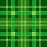 Naadloze het Patroonachtergrond van het plaidgeruite schots wollen stof Groen traditioneel Schots Ornament Naadloze geruit Schots royalty-vrije illustratie
