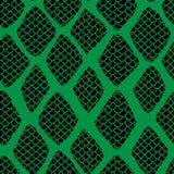 Naadloze het patroonillustratie van de slanghuid royalty-vrije illustratie