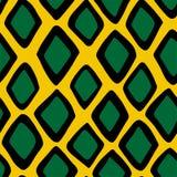 Naadloze het patroonillustratie van de slanghuid stock illustratie