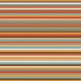 Naadloze horizontale lijn retro illustratie Stock Afbeeldingen