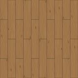 Naadloze houten panelen stock illustratie
