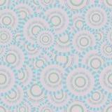 Naadloze illustratie met cirkels die op een basis Victoria maakten Royalty-vrije Stock Foto