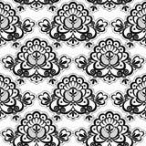 Naadloze kantflora Royalty-vrije Stock Afbeelding