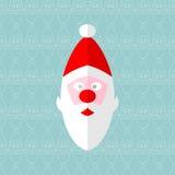 Naadloze kerstman Royalty-vrije Illustratie