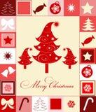 Naadloze Kerstmis Stock Afbeelding