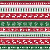 Naadloze Kerstmis background6 Royalty-vrije Stock Fotografie