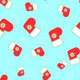 Naadloze Kerstmiskous vector illustratie