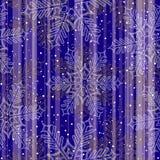 Naadloze Kerstmissneeuw vector illustratie