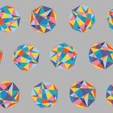 Naadloze kleurrijke abstracte achtergrond Stock Foto