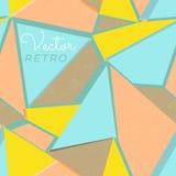 Naadloze kleurrijke abstracte achtergrond Stock Afbeelding