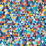 Naadloze kleurrijke abstracte achtergrond Royalty-vrije Stock Foto's