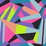 Naadloze kleurrijke abstracte retro achtergrond Royalty-vrije Stock Foto