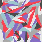 Naadloze kleurrijke abstracte retro achtergrond Stock Fotografie