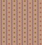 Naadloze kleurrijke bloem uitstekende achtergrond vector illustratie