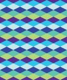 Naadloze kleurrijke decoratieve achtergrond met geometrische vormen Royalty-vrije Illustratie