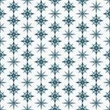Naadloze kleurrijke die achtergrond van kristallen wordt gemaakt Stock Afbeelding