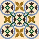 Naadloze kleurrijke ornamenttegels Royalty-vrije Stock Afbeeldingen