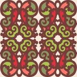 Naadloze kleurrijke ornamenttegels Stock Fotografie