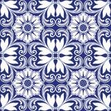 Naadloze kleurrijke ornamenttegels Royalty-vrije Stock Afbeelding