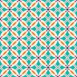 Naadloze kleurrijke ornamenttegels Stock Afbeelding